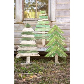 Ways to make your own christmas tree from pallet wood 25
