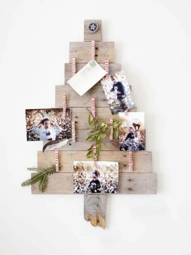 Ways to make your own christmas tree from pallet wood 31