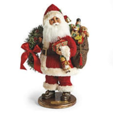 Adorable indoor animated christmas figures 09