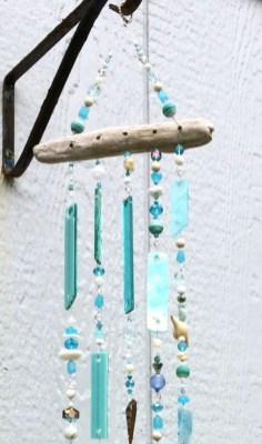 Beautiful beaded wind chime to add sparkle to the garden 19