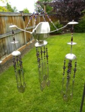 Beautiful beaded wind chime to add sparkle to the garden 35