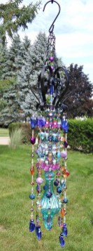 Beautiful beaded wind chime to add sparkle to the garden 37