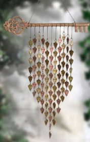 Beautiful beaded wind chime to add sparkle to the garden 40