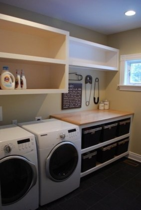 Diy ideas for your laundry room organizer 18