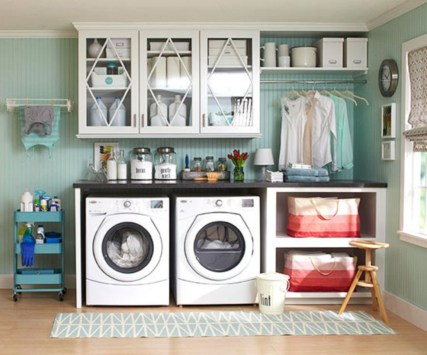 Diy ideas for your laundry room organizer 25
