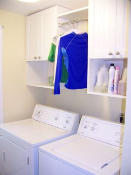 Diy ideas for your laundry room organizer 40