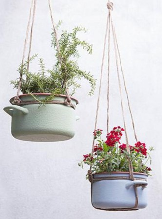 Diy indoor hanging planters 12