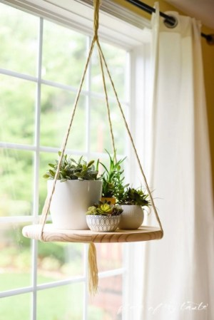 Diy indoor hanging planters 13