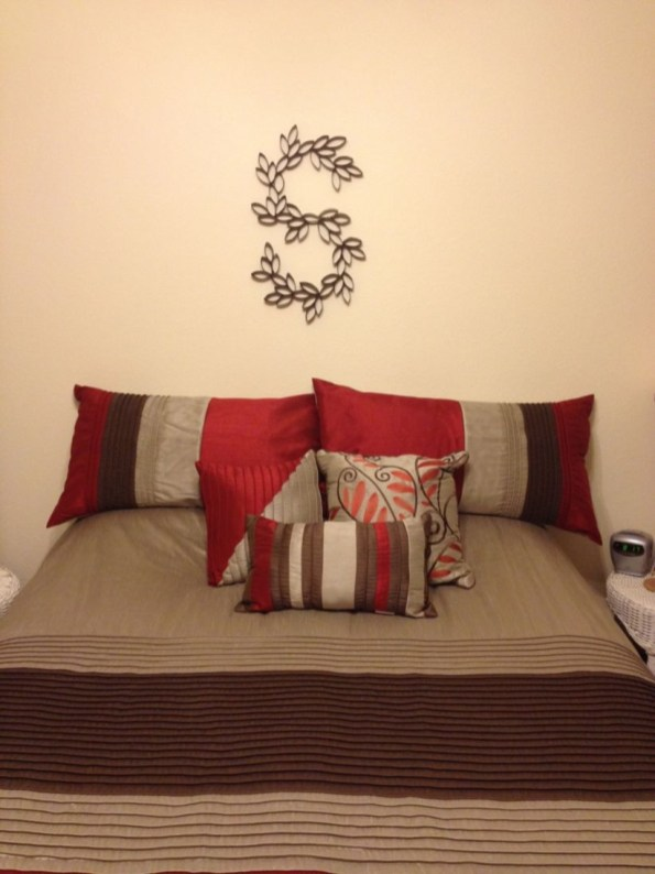 Diy paper roll wall art to beautify your home 46