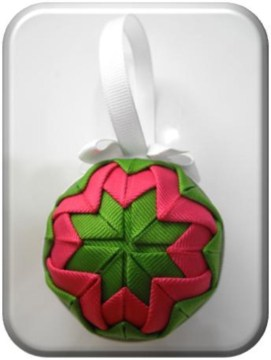 Diy ribbon ornament for christmas 08