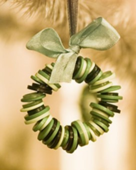 Diy ribbon ornament for christmas 09