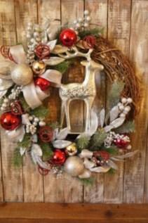 Diy ribbon ornament for christmas 14