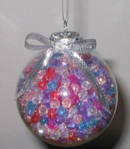 Diy ribbon ornament for christmas 21