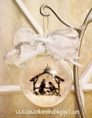 Diy ribbon ornament for christmas 25