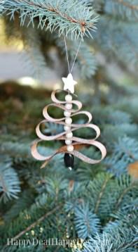 Diy ribbon ornament for christmas 39