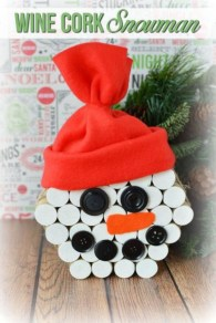 Diy snowman ornament for christmas 01