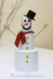 Diy snowman ornament for christmas 12