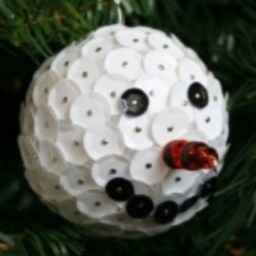 Diy snowman ornament for christmas 20