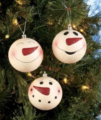 Diy snowman ornament for christmas 43