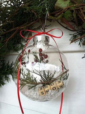Easy but beautiful diy christmas ornaments 17
