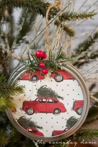 Easy but beautiful diy christmas ornaments 30