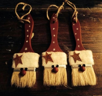 Easy but beautiful diy christmas ornaments 42