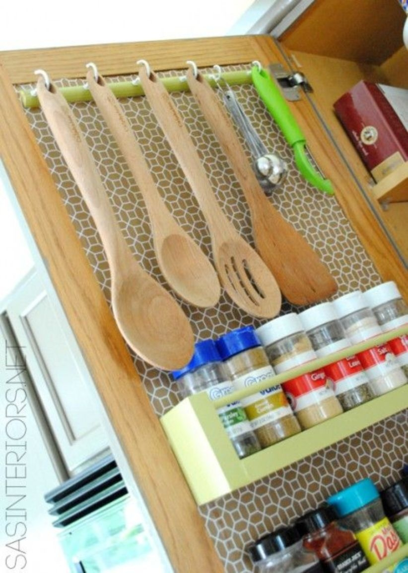 Easy kitchen storage solutions for rv