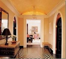 Elegant black herringbone tiles for your space 11