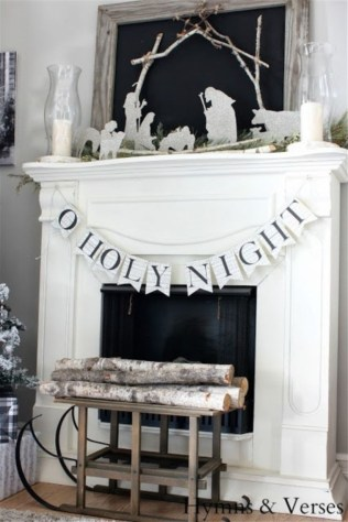 Elegant decorating ideas for white christmas 41
