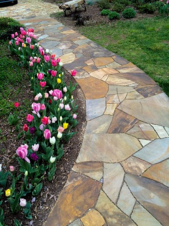 15 DIY Garden Path Ideas for Backyard and Front yard ... on Patio And Path Ideas id=23313
