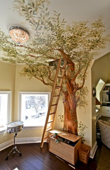 Fun and easy way to decorate your playroom (17)