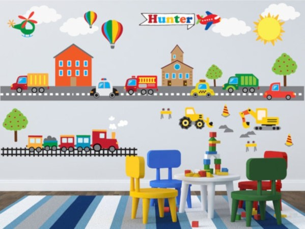 Fun and easy way to decorate your playroom (29)