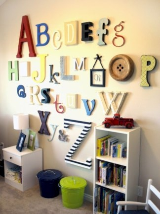 Fun and easy way to decorate your playroom (6)