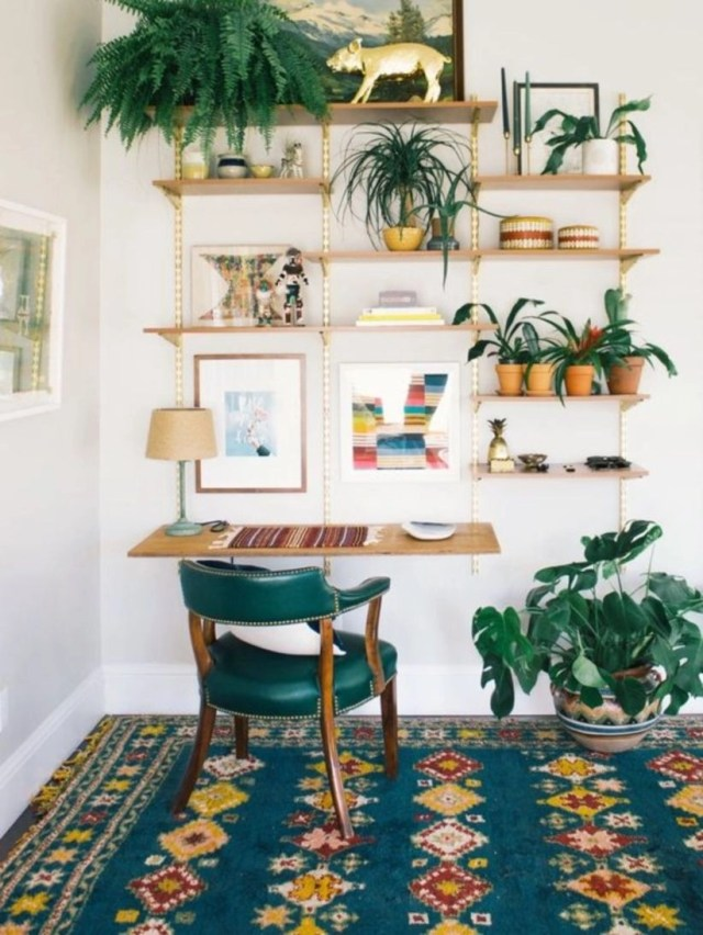 Gorgeous ways to decorate with plants for home decoration