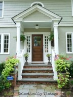 Ideas to decorate your entryway to replace porch 38