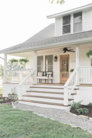 Ideas to decorate your entryway to replace porch 40