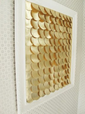 Make your own string art that look artsy for your space 07