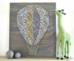 Make your own string art that look artsy for your space 22