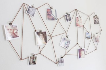 Make your own string art that look artsy for your space 26