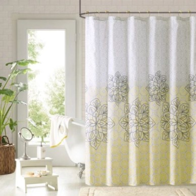 On a budget make your own curtain 38