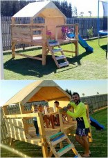 Pallet projects and ideas for kids 31