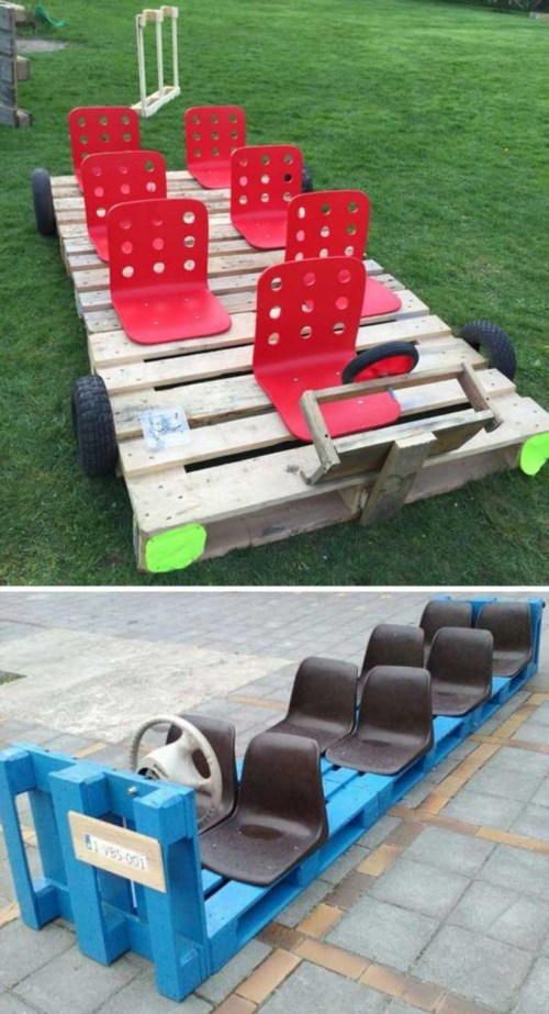 Pallet projects and ideas for kids 33