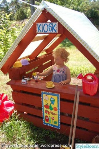 Pallet projects and ideas for kids 35