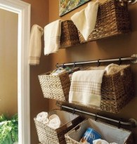 Simple and easy diy storage ideas for amazing bathroom 02