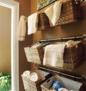 Simple and easy diy storage ideas for amazing bathroom 02