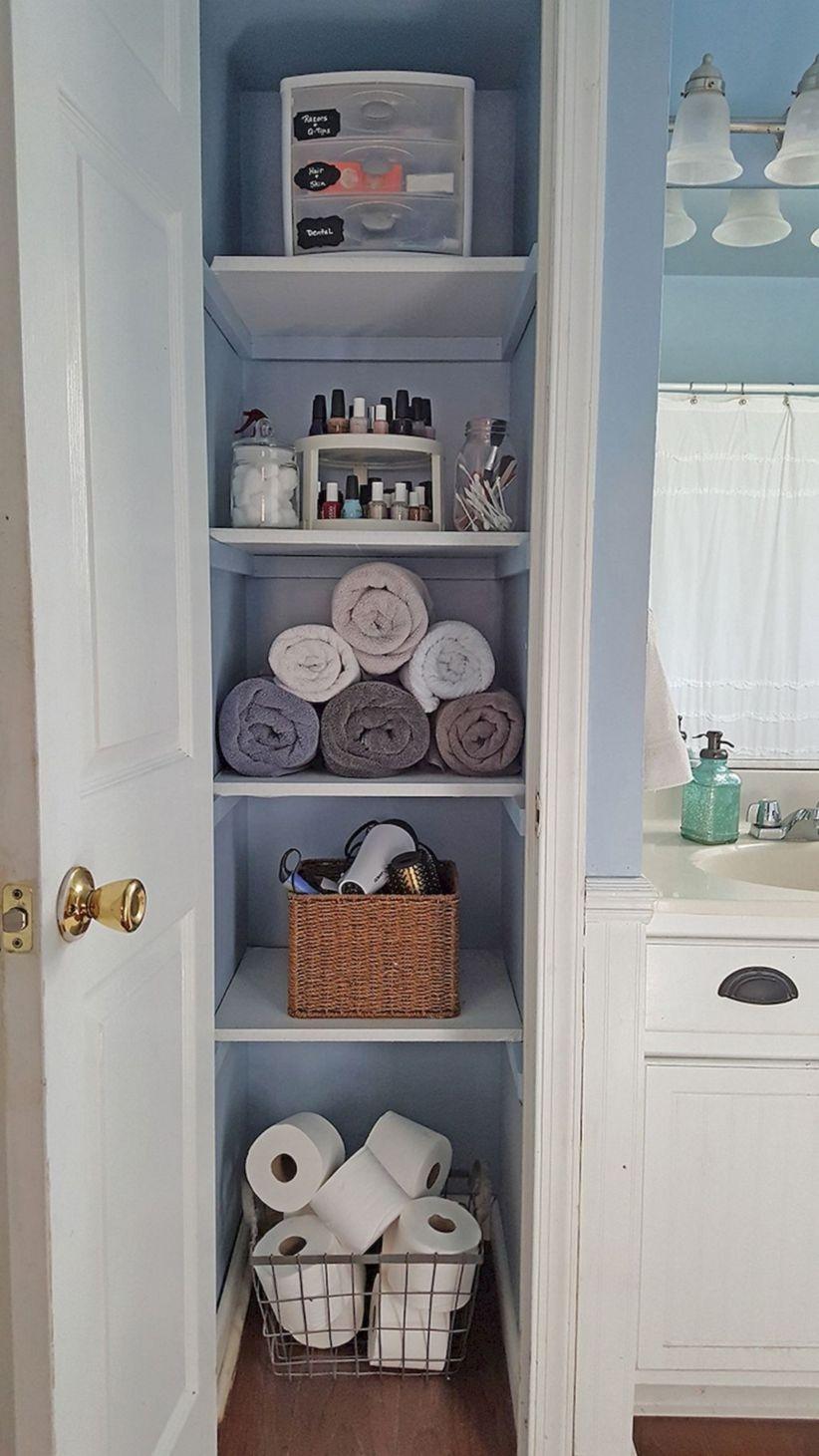simple-and-easy-diy-storage-ideas-for-amazing-bathroom-05-1 Closet In Bathroom Design Small Spaces on basic closet design, lowe's closet design, room closet design, furniture closet design, small closet ideas, simple closet design, small closet remodel, small designer bathrooms, desk closet design, contemporary closet design, bathroom sink closet design, men's closet design, corner closet design, bathroom with closet design, small closet layouts, home closet design, bed in closet design, long narrow closet design,