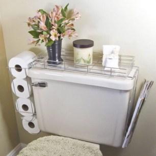 Simple and easy diy storage ideas for amazing bathroom 09