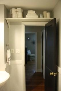 Simple and easy diy storage ideas for amazing bathroom 17