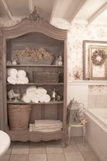 Simple and easy diy storage ideas for amazing bathroom 19