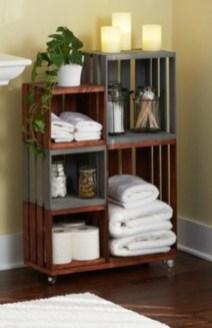 Simple and easy diy storage ideas for amazing bathroom 36